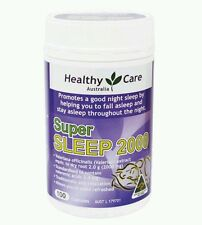 Healthy Care Super Sleep (Valerian 2000mg) 100 Capsules OzHealthExperts