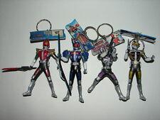 4 Kamen Rider Den-O Figure Keychains! Masked Rider Ultraman Godzilla