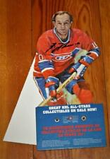 Guy Lafleur Montreal Canadiens Autographed Canada Post Advertising Sign Standup!