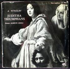 Vivaldi Juditha triumphans Alberto Zedda 2 x LP NM, CV EX mono