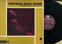 Hines, Earl - The Real Earl Hines - Recorded Live! In Concert  Vinyl LP Record