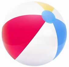20in Beach Ball Inflatable Blow up Panel for Fun, Holiday, Party, Swimming