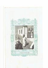 1853 Grabado, La Presentación de Nuestra Señora