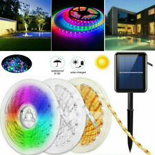 3-5m 150LED Solar Powered Light Strip Garden Outdoor Party Xmas Decor Waterproof