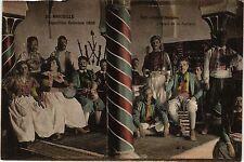CPA EXPO Coloniale MARSEILLE 1906 Café-concert tunisien (403397)