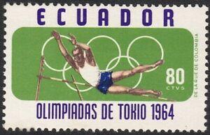 1964 Ecuador SC# 725 - 18th Olympic Games, Tokyo - M-H