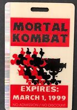 MORTAL KOMBAT CONQUEST tv show production entrance staff cast card collectible