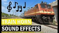 Horn Sound Effect for any Locomotive Marklin ESU DCC AC DC Analog Steam Diesel