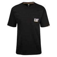 Caterpillar Men's Black Official Logo Pocket S/S T-Shirt