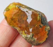 84.3Ct Ethiopian Crystal Black Opal Rough Clarity Enhanced YSJ3786