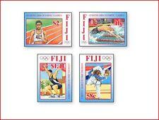 FIJ0406 Athletics Athens 2004 - 4 pcs