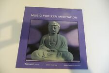 MUSIC FOR ZEN MEDITATION LP TONY SCOTT/ SHINICHI YUIZE / HOZAN YAMAMOTO.