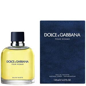 Dolce & Gabbana Pour Homme Eau de Toilette 125ml Spray Men's - NEW. EDT