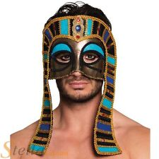 Adult Tutankhamun Eye Mask Egyptian Pharaoh Fancy Dress Costume