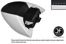 Black & White de vinilo personalizado se ajusta HARLEY DAVIDSON STREET ROD VRSCR Cubierta de Asiento Trasero