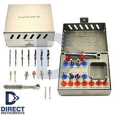 Dental Implant Drill Stopper Kit Sinus Lift Compression Bone Expander Screw Disk