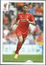 PANINI LIVERPOOL STICKER-2014/15- #116-FABIO BORINI IN ACTION