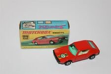 Matchbox Superfast No 62 Renault 17TL Diecast Vehicle In Original Box