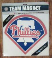 """MLB Philadelphia Phillies 12"""" Team Logo Magnet"""