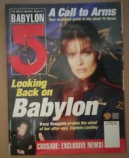 Tracy Scoggins Captain Lochley Cover Babylon 5 Magazine April 1999 No. 9