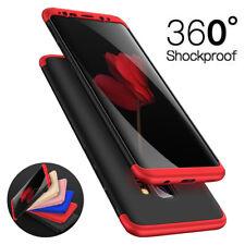 Hülle für Samsung Galaxy S9/S9 Plus Full Cover 360° Grad Handy Schutz Slim Case