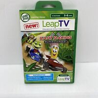Leap Frog Leap TV Kart Racing Supercharged Game Mathematics K-2nd Grade NEW