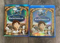 Disney/Pixar's RATATOUILLE Blu-ray & Bonus Disc w/ Slipcover DISNEY PIXAR OOP