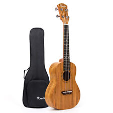 Kmise 26 Inch Tenor Ukulele Hawaii Guitar Musical Instruments Zebrawood W/Bag