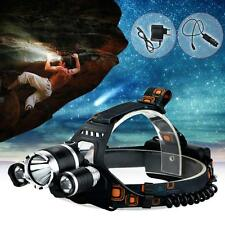 Camping Hunting Hiking 6000 Lumen CREE XM-L T6 LED Headlamp Headlight Head Torch