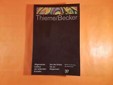 Thieme/Becker, 37, Lexikon der bildenden Künstler, 1992  (AMB192)