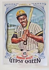 2016 TOPPS GYPSY QUEEN WILLIE STARGELL 5X7 JUMBO ART CARD #/49 475 HR PIRATES