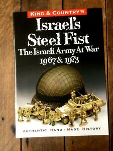 King & Country brochure Israel's steel fist. The Israeli army at war 1967 & 1973