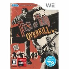 Used Wii House of the Dead: Overkill Japan Import