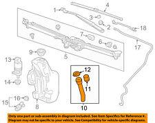 Buick GM OEM 12-16 Verano Wiper Washer-Windshield-Fluid Filler Tube 13260586