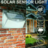 Waterproof 208 LED Solar Power PIR Motion Sensor Wall Light Outdoor Garden Lamp