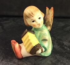 Hummel 238 / b Angel Engel mit Akkordeon Göbel Porzellan Figur Hummelfigur TMK 6