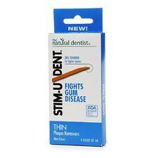 Stim-U-Dent Plaque Removers Thin Mint Flavor Fights Gum Disease 160 ct-PACK OF 3