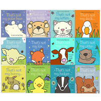 That's Not My Touchy Feely Series 12 Books Collection Set Squirrel, Badger New