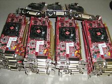 Lot of 23 AMD ATI Radeon 512MB PCI-E DMS-59 Low Profile Video Card