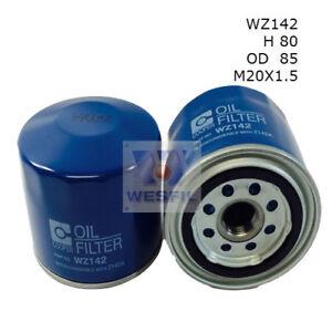 WESFIL OIL FILTER FOR Mitsubishi Pajero 3.0L V6 1991-1993 WZ142