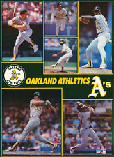 MONSTER POSTER: MLB BASEBALL: OAKLAND A'S  - 6 STARS - #PW-SLMP-A'S  RAP118 B