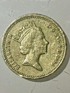 £1 one pound coin 1994 Rare Lion Rampant of Scotland