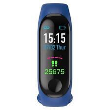 M3 Smart Band Blood Pressure Oxygen Heart Rate IP68 Waterproof  Fitness Tracker