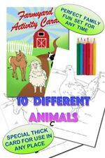 Family Fun Edition Farmyard Farm Animals Activity Pages Size A5