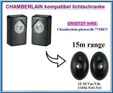 Chamberlain 771REV kompatibler 12-24 VAC / DC Infrarot-Sicherheitsstrahl