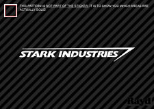 (2x) Stark Industries Sticker Die Cut Decal Self Adhesive Vinyl Ironman Iron Man