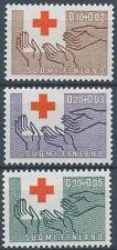 Finland 1963 MNH - Full Set of Red Cross Stamps (3) - Scott  B166-168