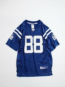Boy Youth Indianappolis Colts #88 Marvin Harrison Football Jersey Size L 14/16