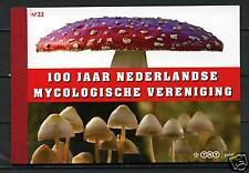 Nederland 100 jaar Mycologische ver. prestigeboekje 22 AANBIEDING