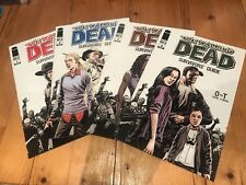 The Walking Dead Survivors Guides Complete Issues #1-4 NM Condition RARE!